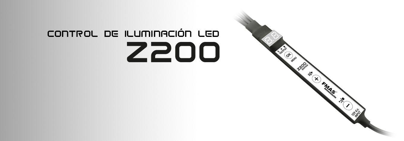 Control de iluminación LED Z200